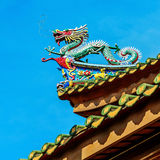 Chinese classical style house Stock Photo
