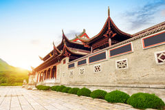 Chinese classical temple Royalty Free Stock Images