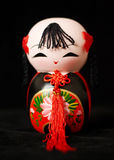 Chinese clay doll Stock Images