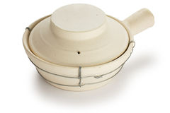 Chinese clay pot Royalty Free Stock Photo
