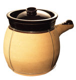 Chinese Clay Pot. Traditional Chinese Clay Pot Close Up Stock Photos