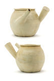 Chinese clay pots Stock Photography
