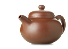 Chinese clay teapot Stock Images