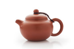 Chinese clay teapot Stock Photos