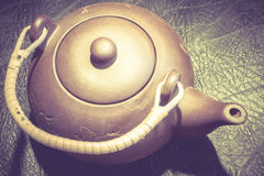 Chinese Clay Teapot Stock Image