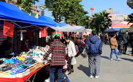 street market China Royalty Free Stock Photo