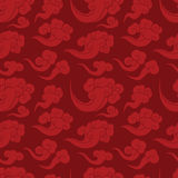 Chinese cloud bg Royalty Free Stock Image