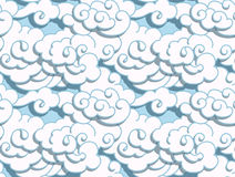 Chinese clouds Royalty Free Stock Photo