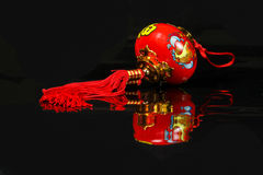 Chinese CNY decoration. Charm wishes feng shui Royalty Free Stock Images