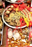 Chinese coin Royalty Free Stock Photo