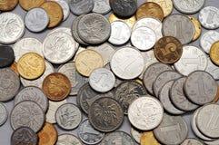 Chinese Coins. Chinese currency coins,Chinese money Stock Photo