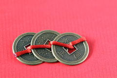 Chinese coins Royalty Free Stock Images