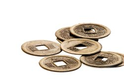 Chinese coins Stock Images