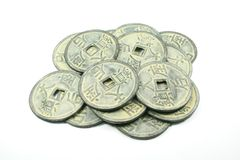 Chinese Coins Royalty Free Stock Image