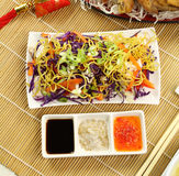Chinese Coleslaw Stock Photos