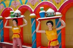 Chinese colorful lantern model Stock Photo