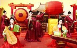 Chinese colorful lantern model festival celebratin. G new year Royalty Free Stock Photo
