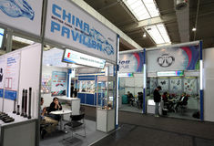 Chinese Companies at the IAA Royalty Free Stock Photo