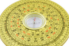 Chinese compass closeup Royalty Free Stock Image