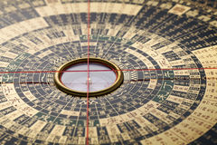 Chinese Compass Royalty Free Stock Images