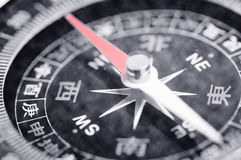 Chinese compass rose. Closeup of Chinese compass rose royalty free stock images