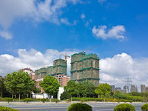 Chinese construction site Stock Photography
