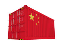 Chinese container Stock Photography