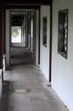 Chinese corridor Stock Image