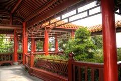 Chinese corridor Royalty Free Stock Photos