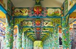 Chinese corridor Royalty Free Stock Image