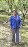 Chinese country woman Stock Photos