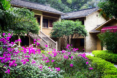 Chinese countryside villa Royalty Free Stock Images