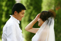 Chinese couple Stock Images