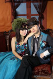 Chinese couple Royalty Free Stock Image