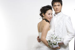 Chinese Couple Stock Photo