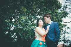 Chinese Couple Royalty Free Stock Photos