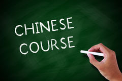 Chinese Course Stock Photography