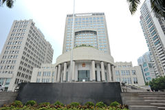 Chinese courthouse Stock Image
