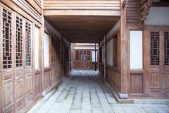 Chinese courtyard Stock Images