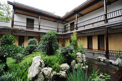 Chinese  Courtyard Stock Photography
