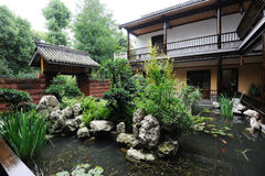 Chinese  Courtyard Stock Image