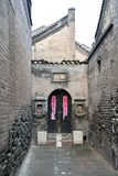 Chinese courtyard building, pingyao Royalty Free Stock Photo