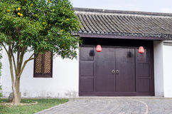 Chinese courtyard Royalty Free Stock Photo
