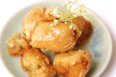 Chinese crab ball Royalty Free Stock Images