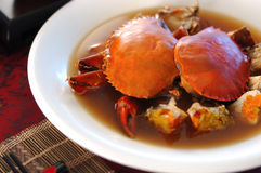 CHINESE Crab Cuisine. CHINESE style Crab Cuisine dining Royalty Free Stock Images