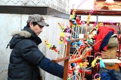 Chinese craftsman Stock Photo