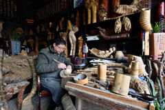 Chinese craftsman Stock Photos