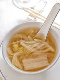 Chinese cream cabbage soup Royalty Free Stock Photos