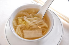Chinese Creamed Cabbage soup Royalty Free Stock Photography
