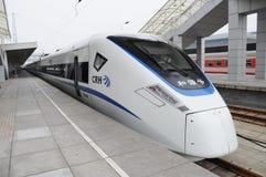Chinese CRH fast train Stock Image